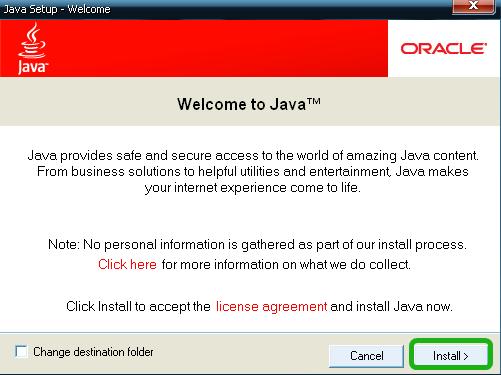 как установить Java на Windows XP