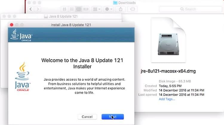 как установить Java на MacOS